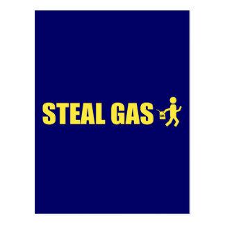 Steal Gas Postcard