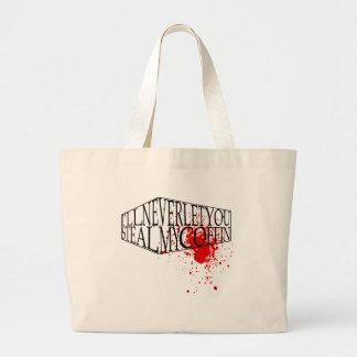 Steal My Coffin Jumbo Tote Bag