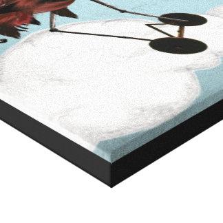 Steal Plus High (Plane) Canvas Print