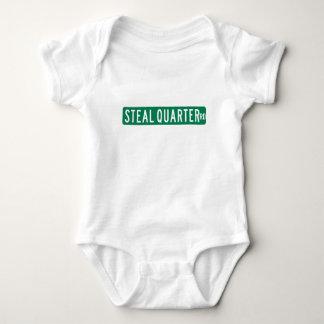 Steal Quarter Road, Street Sign, Florida, US Baby Bodysuit