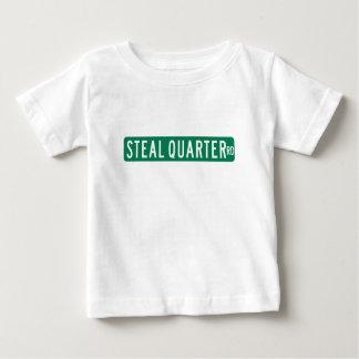 Steal Quarter Road, Street Sign, Florida, US Baby T-Shirt