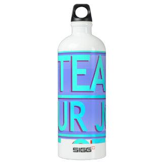 Steal Your Job Cyan & Blue SIGG Traveler 1.0L Water Bottle