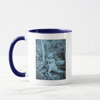 Stealing a Kiss (Cyanotope) Mug