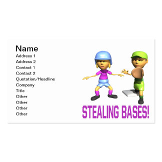 Stealing Bases Business Card