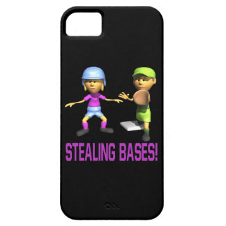Stealing Bases iPhone 5 Cases