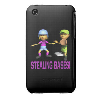Stealing Bases iPhone 3 Cases