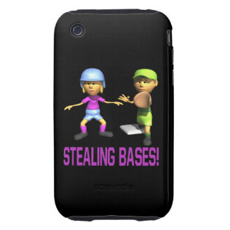 Stealing Bases Tough iPhone 3 Cases