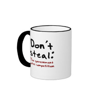 Stealing is wrong mugs