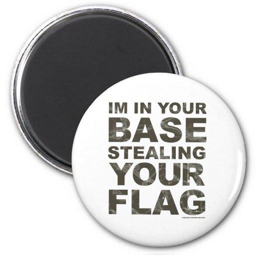 Stealing Your Flag - FPS, Game, Gamer, Video Games Magnet