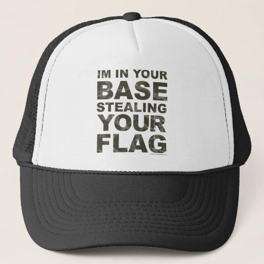 Stealing Your Flag - FPS, Game, Gamer, Video Games Trucker Hat
