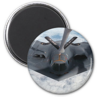 Stealth Bomber 2 Inch Round Magnet