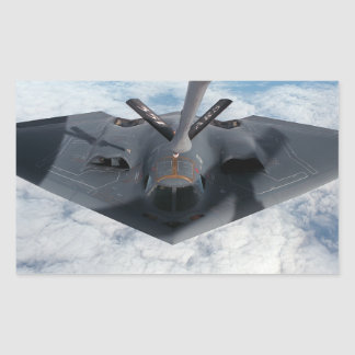 Stealth Bomber Rectangular Sticker