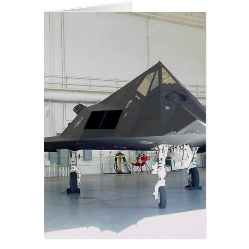 Stealth Fighter F117a Cards