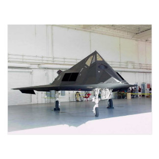 Stealth Fighter F117a Postcard