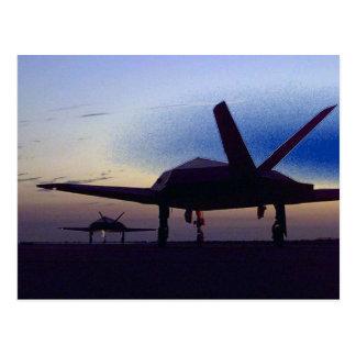 Stealth Fighter Postcard