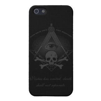 Stealth Freemason Skull & Cross Bones II Cover For iPhone SE/5/5s