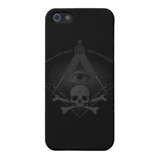 Stealth Freemason Skull & Cross Bones iPhone SE/5/5s Case