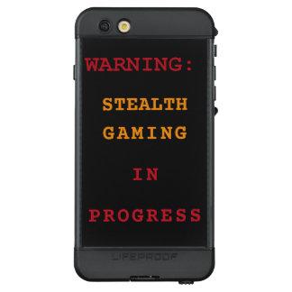 Stealth Gaming In Progress LifeProof NÜÜD iPhone 6s Plus Case