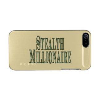 Stealth Millionaire Metallic iPhone SE/5/5s Case
