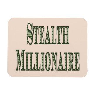 Stealth Millionaire Rectangular Photo Magnet