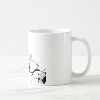 Stealth Pug Roll Coffee Mug