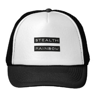 Stealth Rainbow Tag Trucker Hat