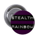 Stealth Rainbow Tag Pinback Buttons
