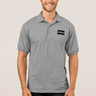 Stealth Rainbow Tag Polo T-shirts