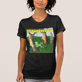 Stealthy, Secretive Cows Tshirts
