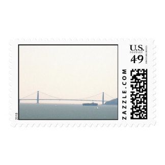 Steam and sail postage stamp