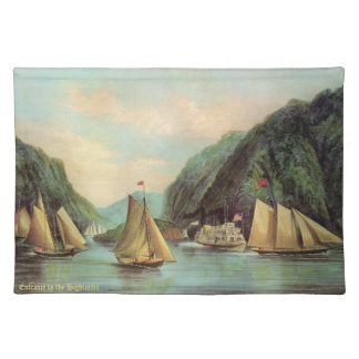 Steam and Sailing Ship Placemat