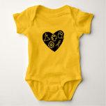 STEAM baby Baby Bodysuit
