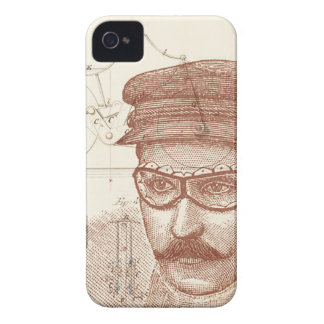 Steam Bicycle Inventor iPhone 4 Case-Mate Case
