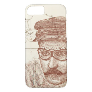 Steam Bicycle Inventor iPhone 8/7 Case