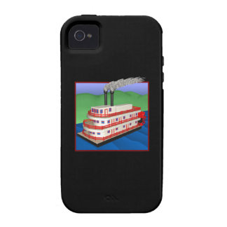 Steam Boat 2 Vibe iPhone 4 Cases
