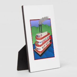 Steam Boat 2 Photo Plaques