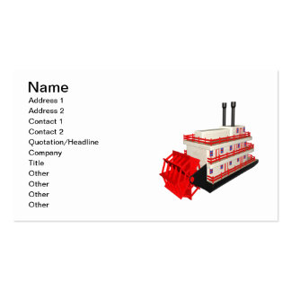 Steam Boat Double-Sided Standard Business Cards (Pack Of 100)