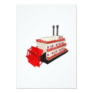 Steam Boat Card