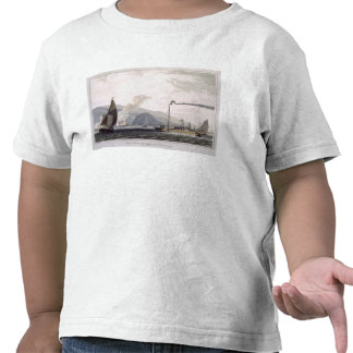 Steam boat on the Clyde near Dumbarton, from 'A Vo T Shirt