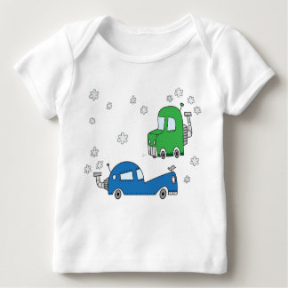 Steam Cars - Infant Long Sleeve Baby T-Shirt
