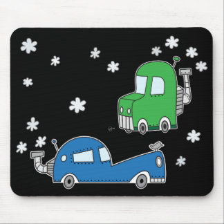 Steam Cars - Mouse Pad