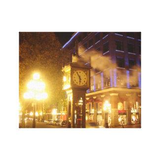 Steam Clock Vancouver, BC Canvas Print