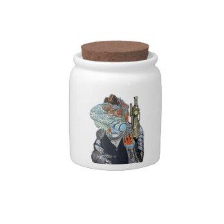 Steam Dragon Sheriff Candy Jar
