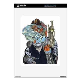 Steam Dragon Sheriff iPad Decals