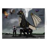 Steam Dragon Wars Card