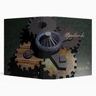 Steam Dream Gears 3 Ring Binder