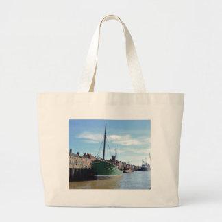 Steam Drifter Lydia Eva Tote Bags