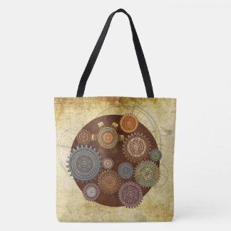 Steam Elegance Steampunk Tote Bag
