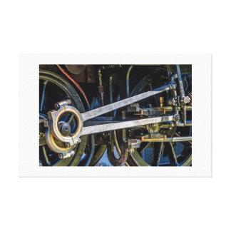 STEAM ENGINE - 3 - Canvas print
