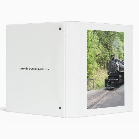 steam engine 3 ring binder